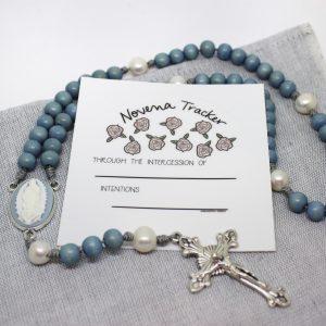 Catholic Novena tracker dry-erase sticker